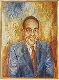 Durval de Noronha's portrait by Lene Schmidt-Petersen - 2005.